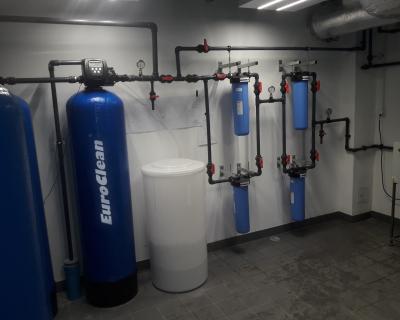 Stacja uzdatniania wody dla sterylizatorni