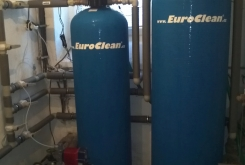 Oczyszczalnia ścieków do usuwania żelaza i manganu z wody