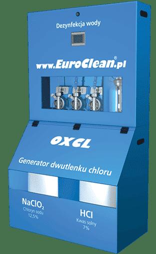Dezynfekcja wody Dwutlenkiem Chloru