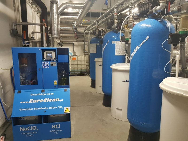 Stacje uzdatniania wody wraz z dezynfekcją