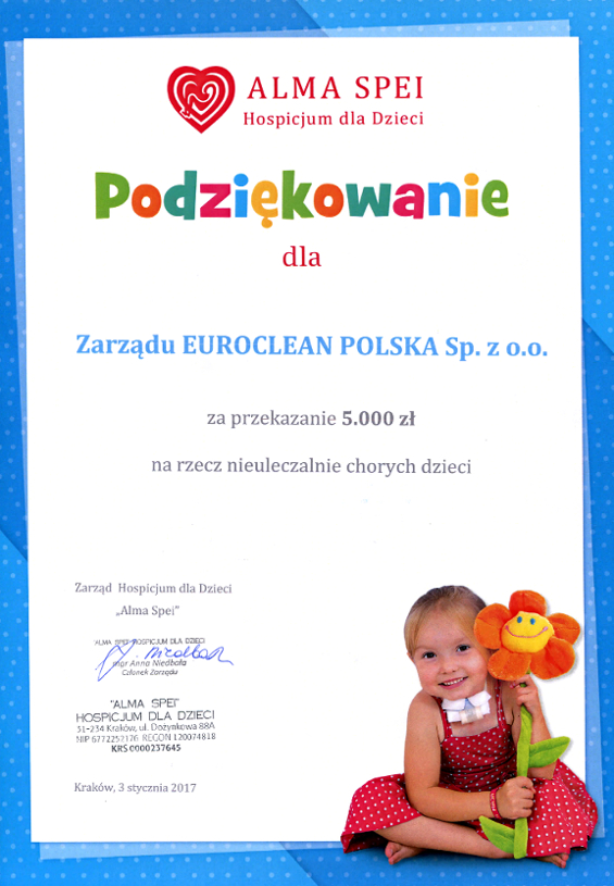 darowizna EuroClean