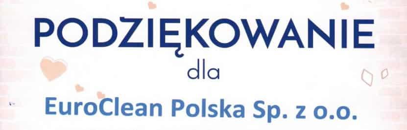 Team EuroClean Polska wspiera potrzebnych